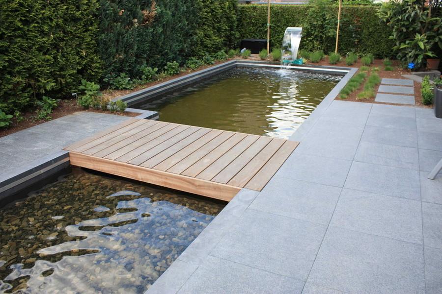 Richter Garten, Gartenarchitektur - Kleiner Wassergarten